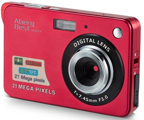 AbergBest Appareil Photo 21 Mega Pixels 2.7 LCD HD