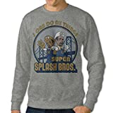 Men's I Can Do All Things Super Splash Bros Sweatshirt Hoody S