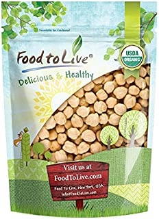 Organic Garbanzo Beans / Dried Chickpeas by by Food to Live (Non-GMO, Kosher, Raw, Bulk) — 3 Pounds