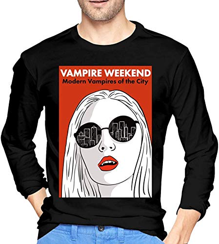 Modern Vampires of The City Men Long Sleeve T-Shirt Graphic T Shirts Tops