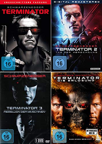 Terminator 1 - 4 Collection, Uncut Edition [4DVD]