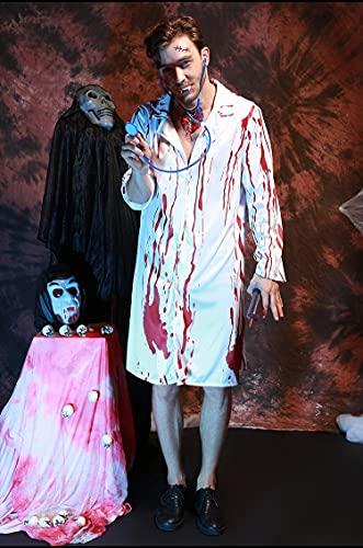 Puzzle 1000 piezas Imagen de personaje de zombie sangriento de hombre de Halloween Puzzle adulto de 1000 piezas Rompecabezas clásico kit de bricolaje juguetes de madera regalo50x75cm(20x30inch)