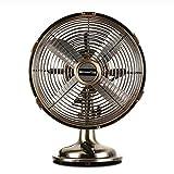 LJHA fengshan Ventilateur électrique, ventilateur métallique vintage - Ordinateur...
