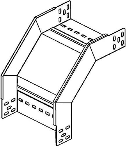 Niedax Rinnenfallbogen RFD 110.300 RL;RS Bogen für Kabelrinne 4013339927760