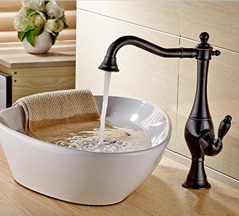 Caribou@Waschtischarmatur Wasserhahn Spültisch Küche Waschtisch Waschenbecken Bad Europischen Antike Kupfer bleifrei-warme und kalte Badezimmer Waschbecken Wasserhahn
