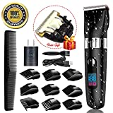 Professional Hair Clippers for Men, Cordless Hair Trimmer Beard Trimmer Men Haircut Kit