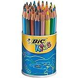 BIC KiDS Evolution Buntstifte, Dose mit 48 Stück
