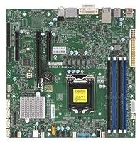 Supermicro マザーボード MBD-X11SCZ-Q-O Core i7/i5/i3 S1151 Q370 64GB PCI Express 95W uATX 小売り