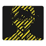 Anime JoJo's Bizarre Adventure Mouse Pad Gaming Office Computer Pc Laptop Liso Durable Rectángulo Gran Base de Goma Antideslizante 10x12 In10 x 12 cm
