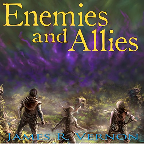 Enemies and Allies audiobook cover art