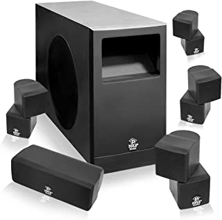 Pyle PHS51P PyleHome 5.1 Home Theater Passive Audio System Four Satellite, Center Channel and 10-Inch Subwoofer
