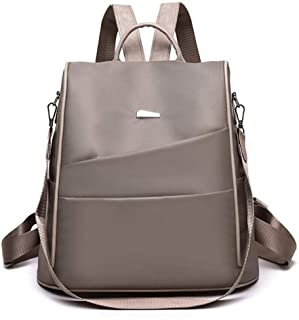 Nylon Anti-theft Backpack,Waterproof Backpack Lightweight Fashion School Bag.