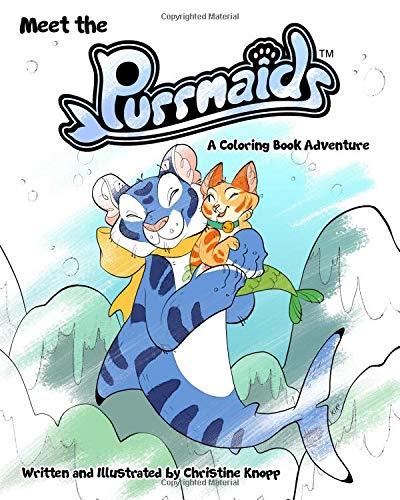 Meet the Purrmaids: A Coloring Book Adventure