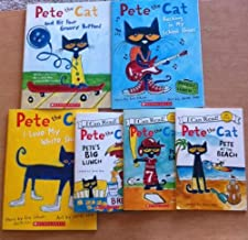 Pete the Cat By Eric Litwin Mega Pack: Includes 6 Paperback Books (Pete the Cat Play Ball, Pete the Cat At the Beach, I Lo...