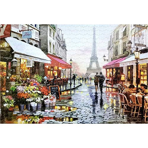 Kinshops 1000 Pieces Set Adult Art Jigsaw Puzzle Jigsaw Puzzles for Adults