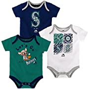 Baby / Infant Sizes 3 Piece Creeper Set Screen Print Graphics Snap Cloures at Bottom 100% Cotton