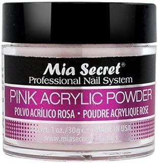 Mia Secret Professional Acrylic Nail System Pink Acrylic Powder 1 OZ