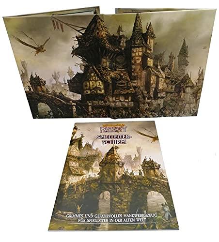 Ulisses Warhammer Fantasy-Rollenspiel 4.Edition Spielleiter-Schirm