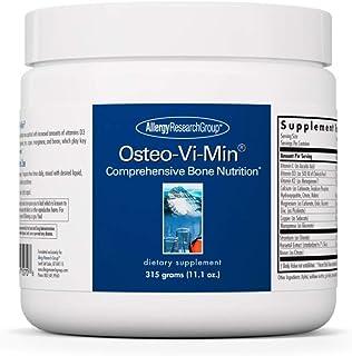 Allergy Research Group - Osteo-Vi-Min Powder - Bone Health - VIT K/D, Cal/Mag - 315g (11.1 oz)