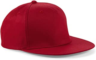 Beechfield Unisex 5 Panel Rapper Cap One Size Classic Red