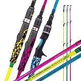 GOOFISH Jigging Rod 6'6'Solid Nano Tech Blank Slow Pitch Jigging Fishing Rod Fuji Guide Reel Seat...