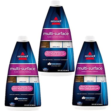 Bissell 17893 Crosswave Multi Surface Formula, 3 Pack, 32oz Multi Surface Formula