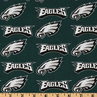nfl eagles cotton fabric