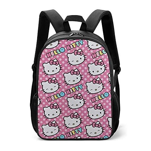 Hello Kitty - Borse da scuola per bambini per studenti della scuola primaria per alleviare il carico della protezione della colonna vertebrale, per ragazzi e ragazze
