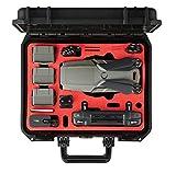 MC-CASES Valise pour DJI Mavic 2 Pro/Zoom et DJI Smart Controller – édition compacte – Fabriqué en Allemagne – Extrêmement Stable