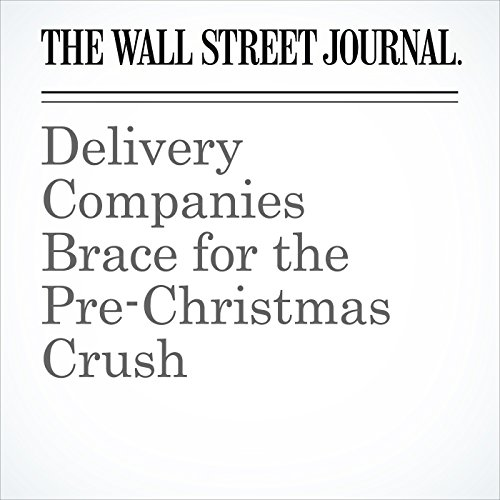 Delivery Companies Brace for the Pre-Christmas Crush copertina