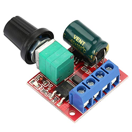Motor Drehzahlsteller, 5v-28v 5a Pwm Dc Motorsteuerung Motordrehzahl Schalter Controller Led Volt Regler Speed Controller