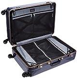 [エバウィン] 軽量スーツケース Be Narrow 静音キャスター 60L 67 cm 4.4kg ネイビーカーボン