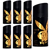 Desodorante Playboy Vip for HIM (6 unidades, 24 h, 150 ml)