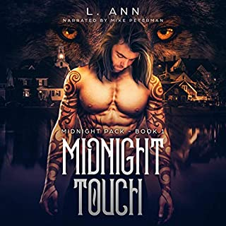 Midnight Touch audiobook cover art