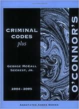 O'Connor's Texas Criminal Codes Plus 2004-2005