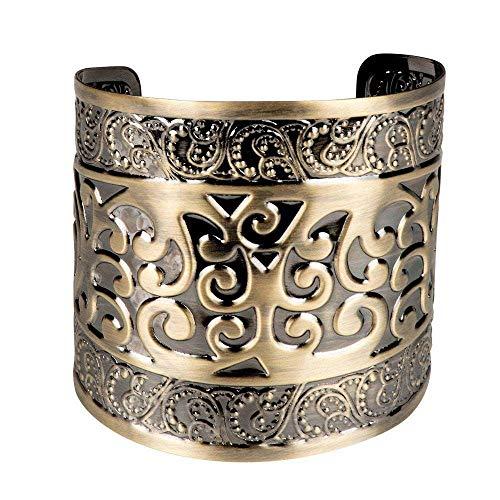 Boland 64488 - Armband Göttin, Armkette, Modeschmuck, Armschmuck, Schmuckstück, Ägypten, Rom, Cleopatra, Zigeunerin, Kostüm, Karneval, Mottoparty