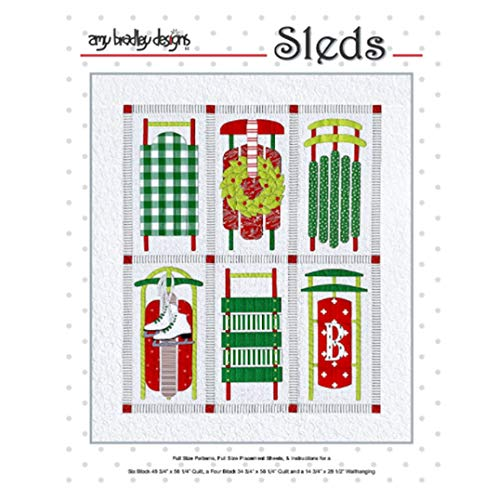 Amy Bradley Designs Steppmuster Schlitten