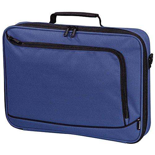 Hama Sportsline Notebooktasche Bordeaux 43,9 cm (17,3 Zoll) Tasche schwarz blau 43,9 cm (17,3 Zoll) Träger 800 g schwarz blau