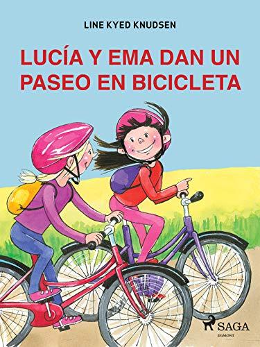 Lucía y Ema dan un paseo en bicicleta