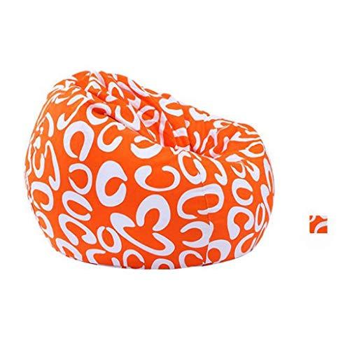 NBVCX Decorazione per mobili Bean Bag Kids Big Bag Extra Large 75cm x 90cm Cuscino Gigante da Pavimento Soggiorno Gamer Outdoor Garden Beanbag Lounger Chair (Colore: C)