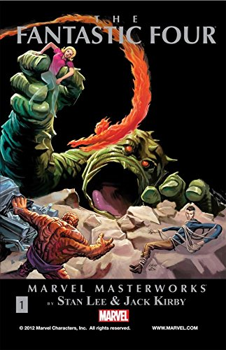 Fantastic Four Masterworks Vol. 1 (Fantastic Four (1961-1996))