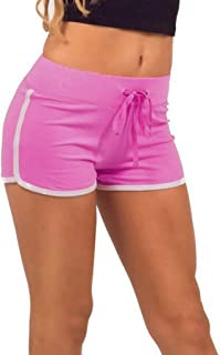 Summer Cotton Sweatpants,Yoga Plus Size Hot Pants Women Sports Shorts Casual Beach Running Gym