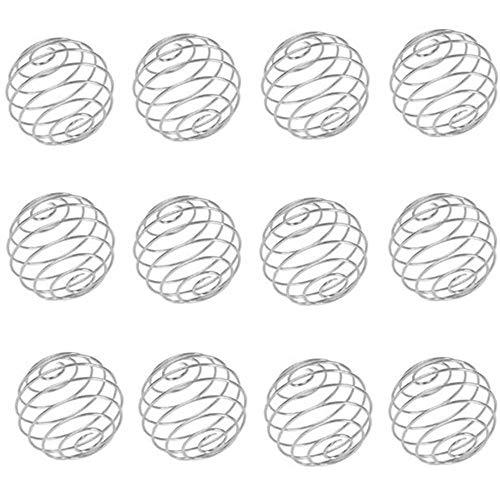 12 Pcs Shaker Mix Balls Stainless Steel Safety Mixer Ball Shaker Durable...