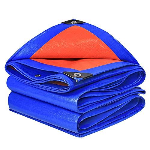 Invinld Outdoor tarpaulin waterproof tarpaulin sunshade poncho waterproof sunscreen tarpaulin insulation truck tarpaulin tower shed wear and tear resistance (Size : 2m*3m)