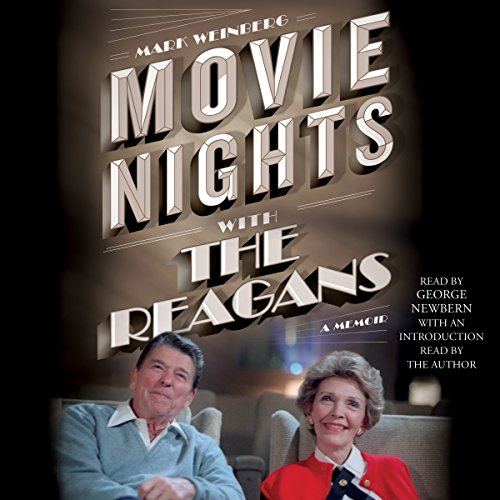 Movie Nights with the Reagans audiobook cover art