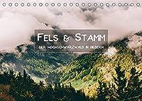 Fels und Stamm - Der Hochschwarzwald in Bildern (Tischkalender 2022 DIN A5 quer): Beeindruckende Landschaften des Hochschwarzwaldes fuehren Sie durch das Jahr (Monatskalender, 14 Seiten )