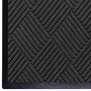 WaterHog Diamond | Commercial-Grade Entrance Mat with Rubber Border – Indoor/Outdoor, Quick Drying, Stain Resistant Door Mat (Charcoal, 4' x 8') (B00BTMZQ0M) | Amazon price tracker / tracking, Amazon price history charts, Amazon price watches, Amazon price drop alerts