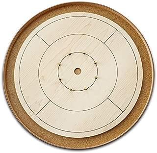 The World Famous - Tournament Size Crokinole Board Game Set