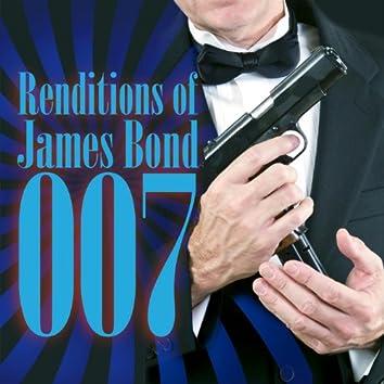 Renditions Of James Bond 007