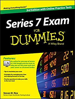 Series 7 Exam For Dummies, with Online Practice Tests
